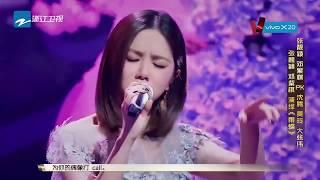 【圣诞音乐节打榜ING】张靓颖&邓紫棋《雨蝶》-CLIP/浙江卫视官方HD/