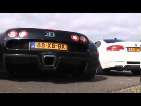 bugatti veyron vs bmw m3 youtube. Black Bedroom Furniture Sets. Home Design Ideas