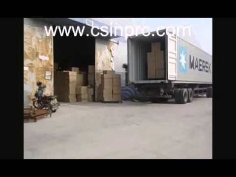 Furniture from China, Loading Container for Our Client