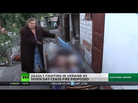 Ukraine peace plan being negotiated amidst continued violence
