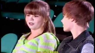 Justin Bieber On Extreme Makeover: Home Edition Brown