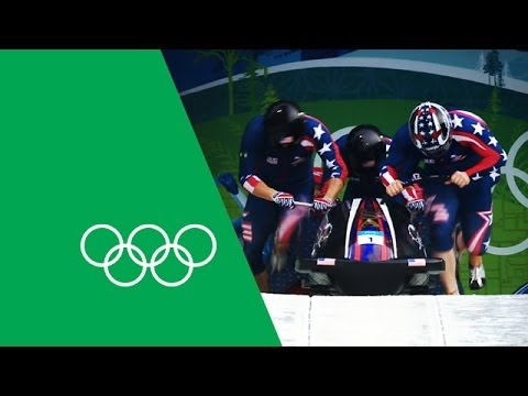 Steve Holcomb Relives Piloting The 'Night Train' To Bobsleigh Gold | Olympic Rewind