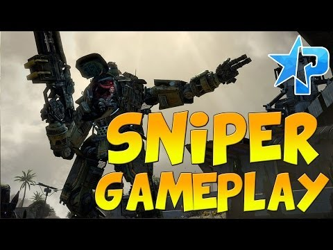 TITANFALL Multiplayer - SNIPING GAMEPLAY! (Titanfall Longbow Sniper Xbox One Gameplay)