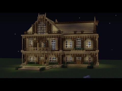 Troll minecraft comment faire une superbe maison rapidement youtube - Comment faire une maison de luxe minecraft ...