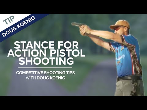 Competitive Shooting Tip: Stance - NSSF Shooting Sportscast