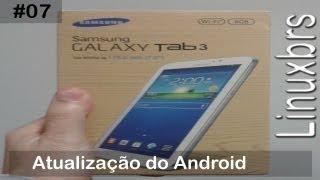 Samsung Galaxy Tab 3 T2100 SM T210 Atualização Do