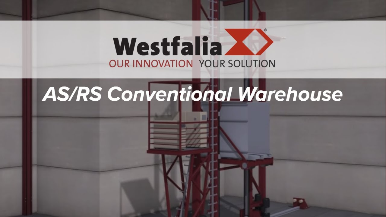 Automated Warehouse, Storage and Retrieval System