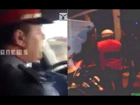 بعد فضيحة الدركي شرطي مرور يضرب و يهدد مواطن بالمسدس