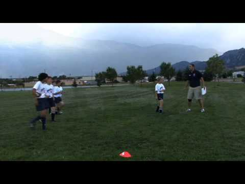 Rookie Rugby - Pass, Defend, and Attack