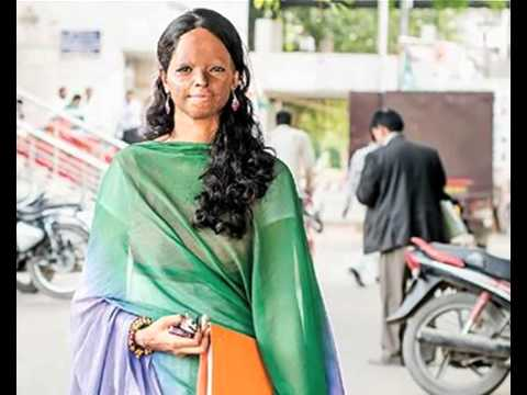Michelle Obama felicitates Indian acid attack victim Laxmi