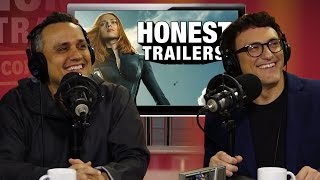 Russo Brothers' Honest Reaction to Winter Soldier Honest Trailer