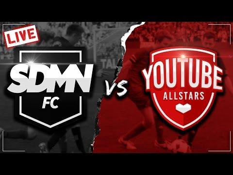 SIDEMEN FC VS YOUTUBE ALLSTARS LIVESTREAM