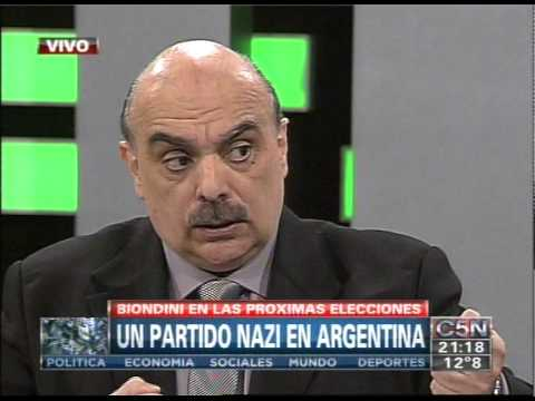 C5N - CHICHE EN VIVO: UN PARTIDO NAZI EN ARGENTINA