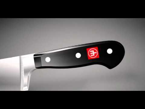 Набор кухонных ножей 3 предмета, серия Classic, WUESTHOF, Золинген, Германия видео продукта