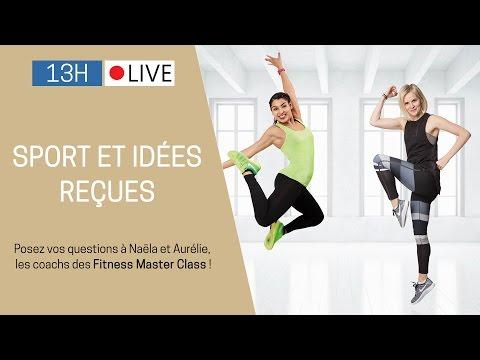 Running, fitness, stretching, perte de poids…Naëla et Aurélie, répondent à toutes vos questions.