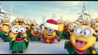 Minions Christmas carols Merry Christmas