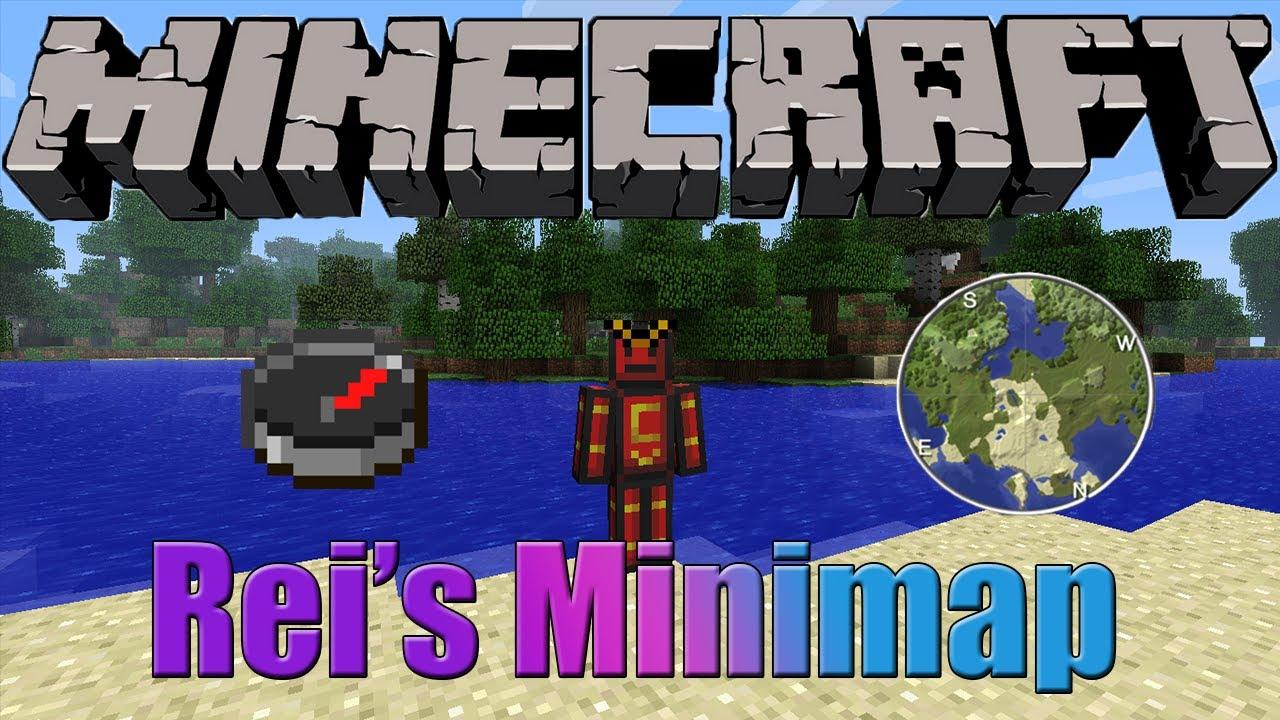 Мод Rei's Minimap для minecraft 1.7.2
