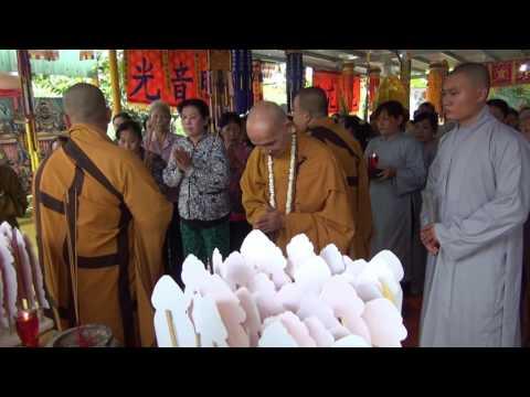 Trai đàn chẩn tế, cầu siêu cửu huyền thất tổ tại chùa Bửu Long, Phường 10, TP Mỹ Tho