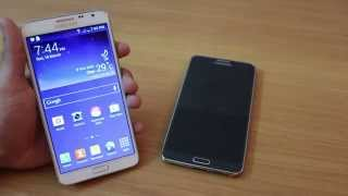 Galaxy Note 3 Neo Vs Note 3 HD Video