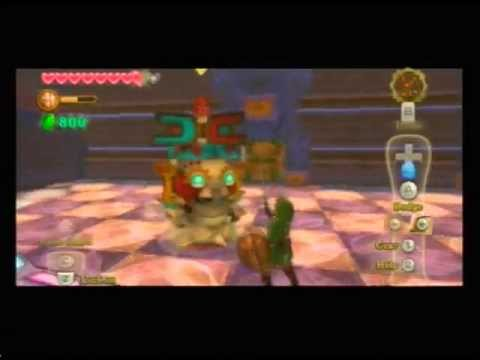 Skyward Sword Progress: Lanayru Mining Facility's Armos