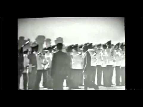 لحظة نزول طائرة البوينغ و نجاة الملك الحسن الثاني من انقلاب أوفقير