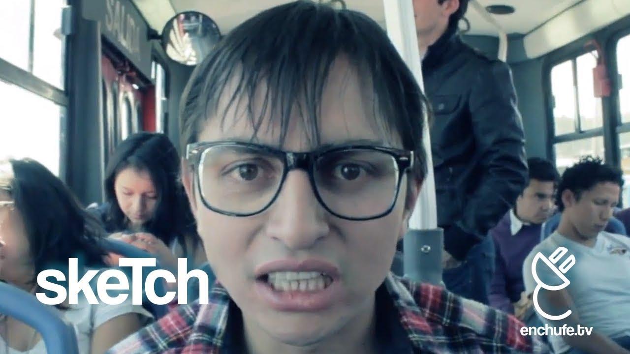 Arimones Y Violandolas En El Bus