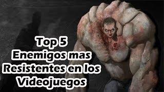 Los 5 enemigos más dificiles de los videojuegos