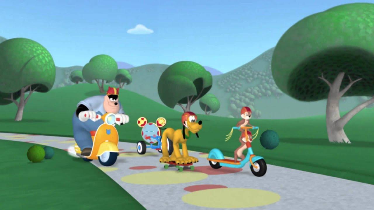 La casa de mickey mouse competencia de rally youtube - Youtube casa mickey mouse ...