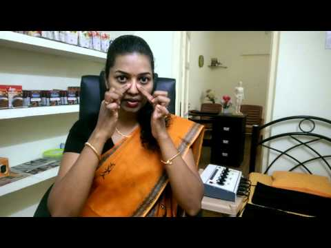 Sinusitis Acupressure treatment