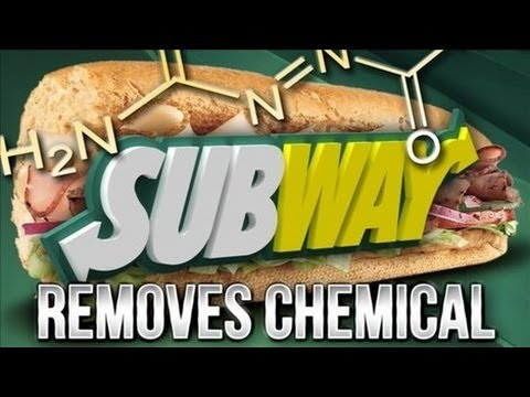 Subway Admits Bread Contains Chemicals Used In Plastic, Yoga Mats, Shoe Soles & Rubber