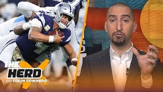 Nick Wright: Cowboys are lacking a foundation and should not extend Dak Prescott | NFL | THE HERD