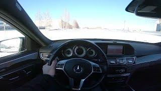 2013 Mercedes-Benz E300 4Matic POV Test Drive. MegaRetr