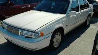1997 Volvo 960 Start Up, Quick Tour, & Rev With Exhaust View - 145K (Minor Burnout)