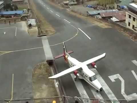 sân bay nguy hiểm nhất thế giới