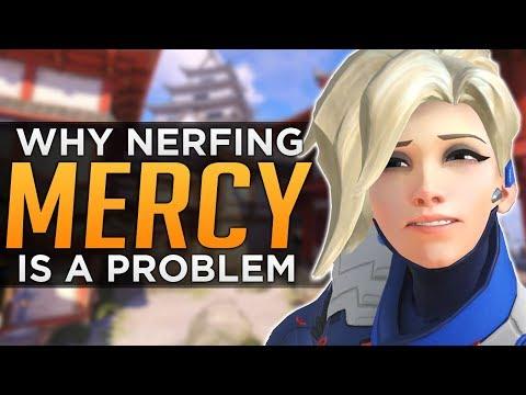 Overwatch: The Mercy NERF Problem