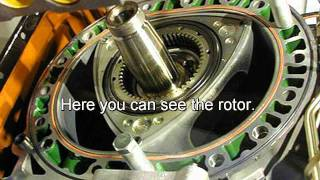 O.S. NSU Wankel Rotary Engine Powered Vintage Flying Wing
