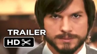 Jobs Official Trailer #1 (2013) Ashton Kutcher Movie HD