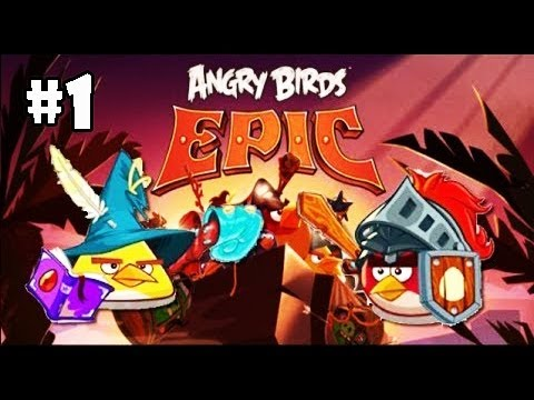 Angry Birds Epic - Gameplay Passo a Passo #Part 1