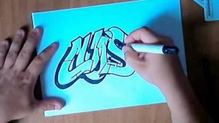 Graffiti Paso A Paso Dibujando Un Graffiti Parte-1[ By