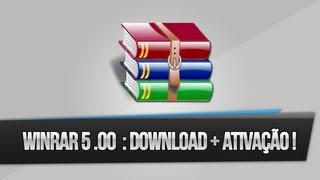 Winrar 5.00 PT-BR : Download + Ativação (32 & 64 Bits