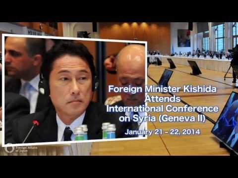 Foreign Minister Kishida Attends International Conference on Syria (Geneva II)