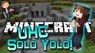 Minecraft: Ultra Hardcore w/Mitch & Jerome Ep 2. - SOLO YOLO (UHC Mod)