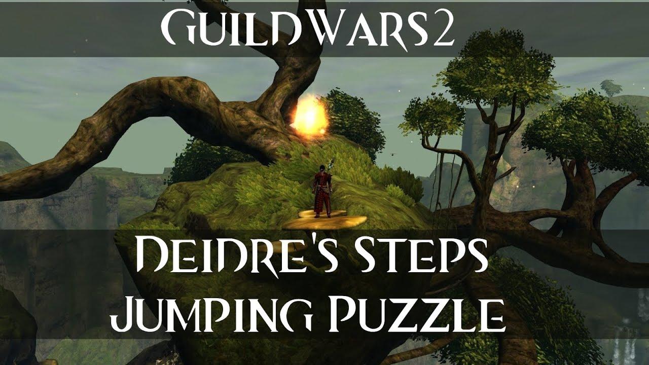 Deidre 39 S Steps Hidden Garden Guild Wars 2 Jumping Puzzle Guide Walkthrough Youtube