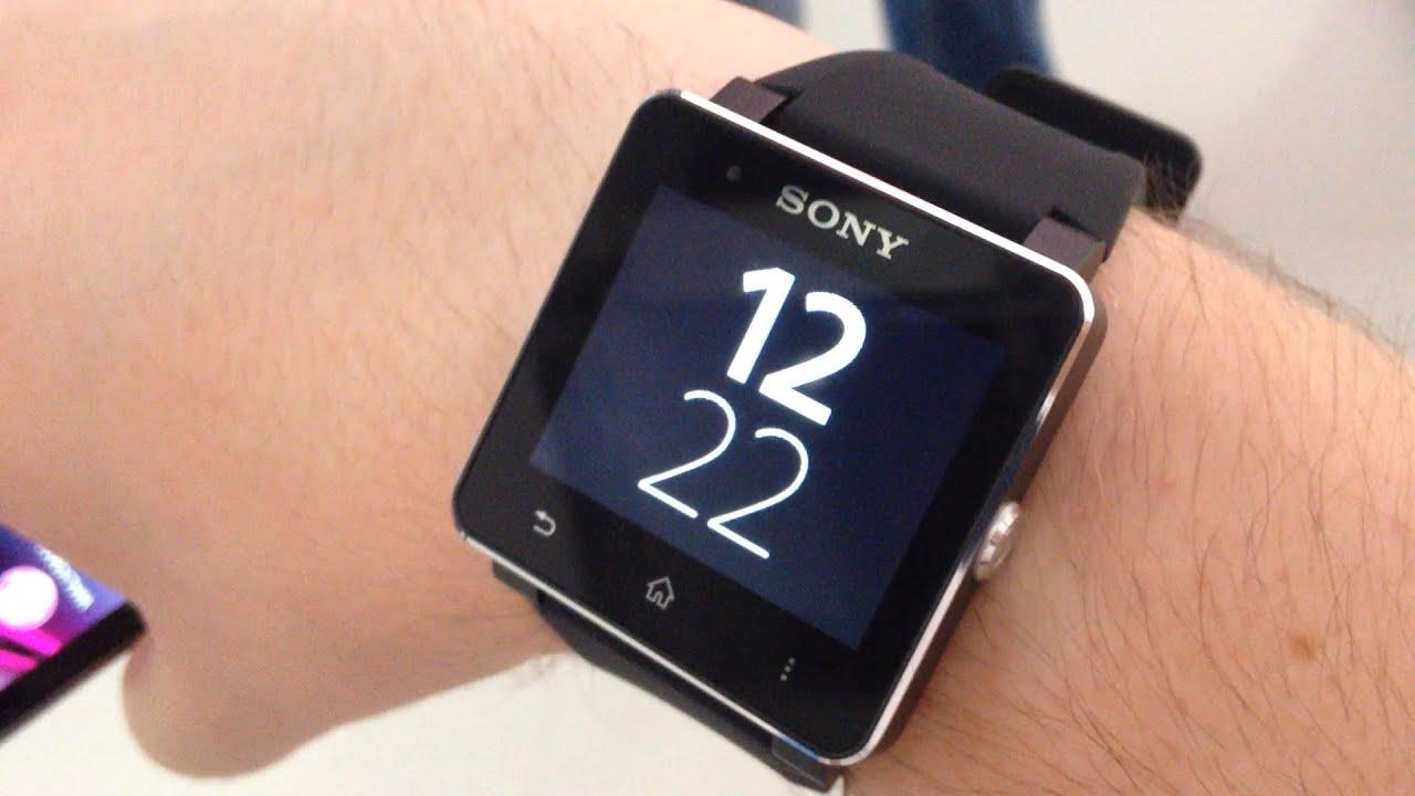 Inteligenty zegarek od Sony