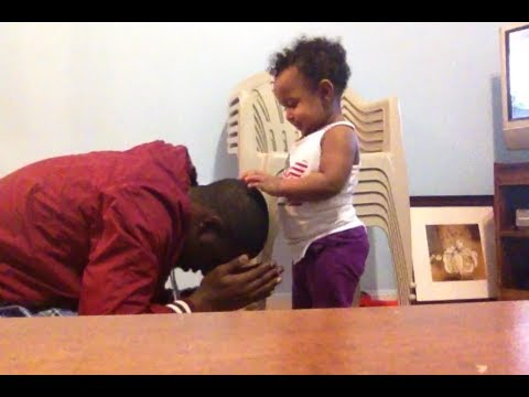 Very Funny A Little Baby Hinko Blessing Her Uncle