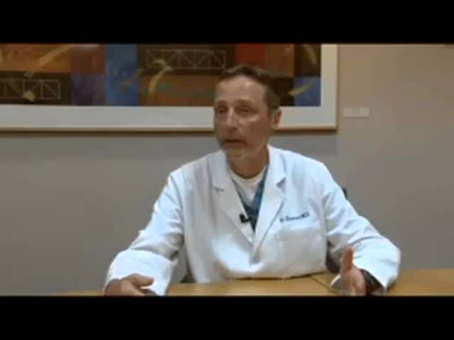 Dr. Sherman explains unicondylar knee replacement.