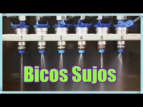 Falhas no Funcionamento - Problema com bicos injetores sujos