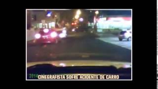Carro avan�a sinal vermelho e atinge ve�culo de cinegrafista da TV Alterosa
