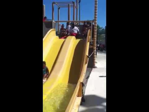 Will on water slide