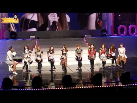[Vietsub][Yoonavn] 120901 SNSD talk @ Yakult Look Concert  (1/2)